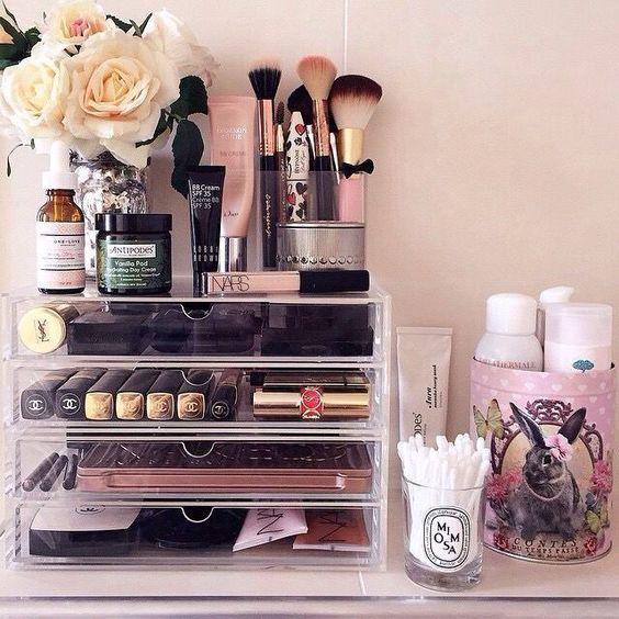 Make-up: mettiamo in ordine? organizer trucchi