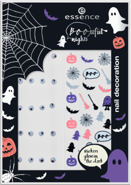 Decorazioni unghie, Halloween 2017, Essence Cosmetics, Bootiful Nights