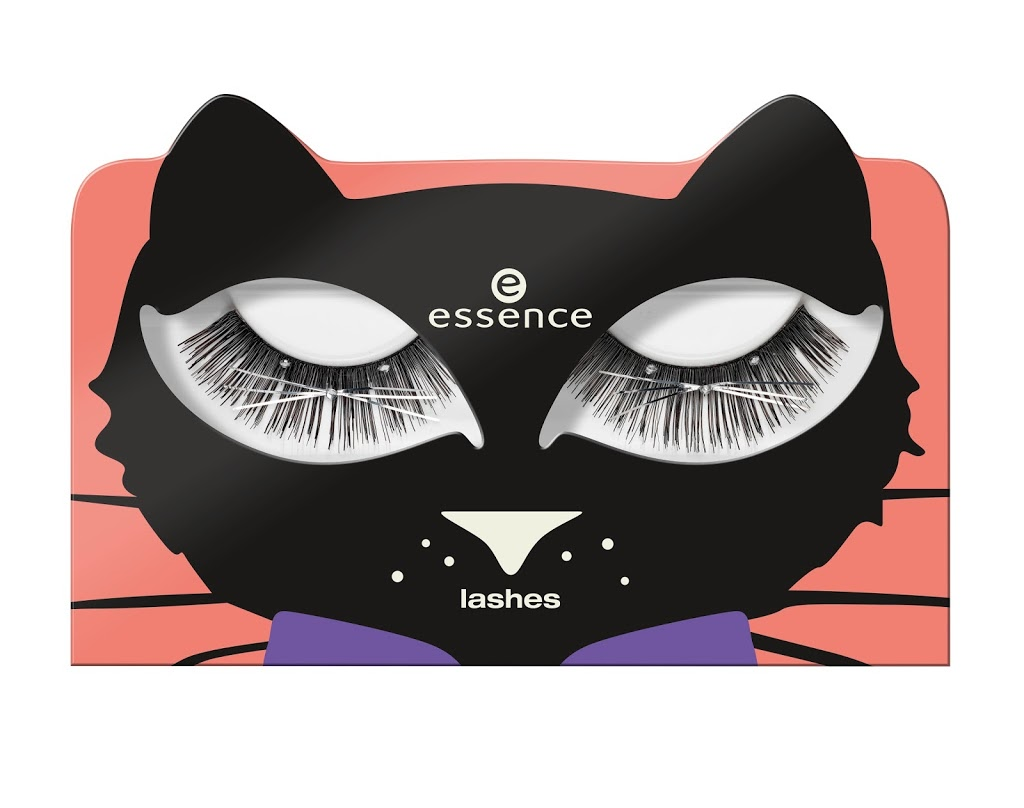 Lashes, ciglia finte, Essence Cosmetics, Halloween 2017, Bootiful Nights