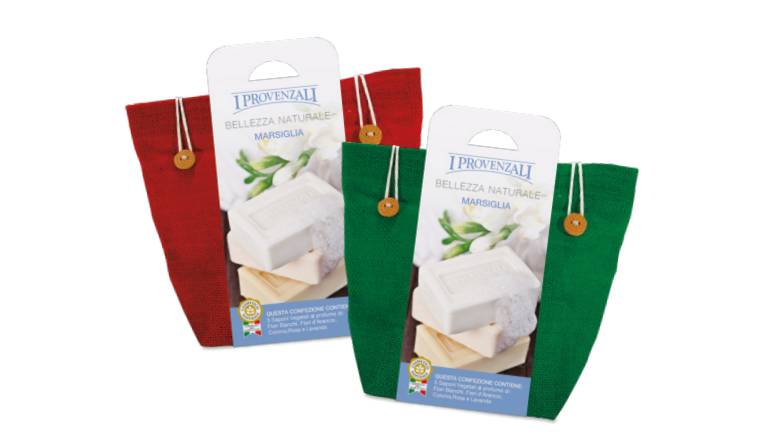 Linea Marsiglia I Provenzali confezione regalo Natale post