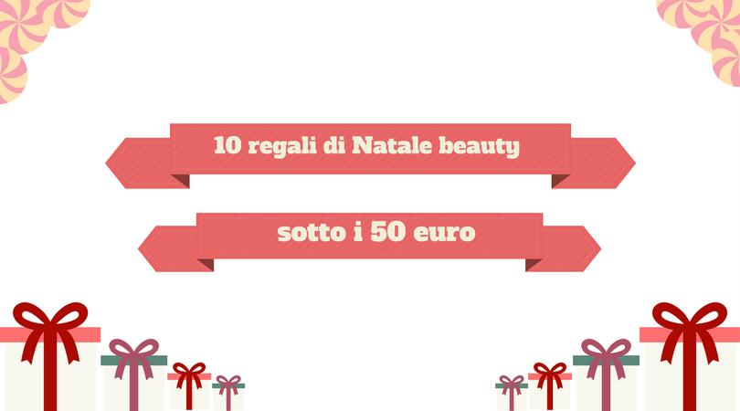 10 regali di Natale sotto i 50 euro