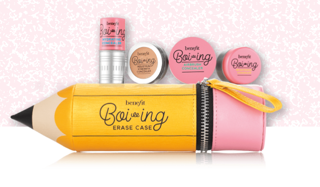 Erase case Benefit cosmetics kit correttori boi-ing regalo di Natale sotto i 50 euro Mirtilla Malcontenta beauty Blog