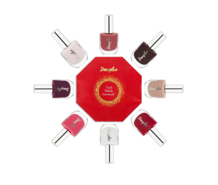 Nail Polish Carousel Cofanetto Make Up regalo di Natale Douglas Collection 8 smalti, mirtilla malcotnetna beauty blog