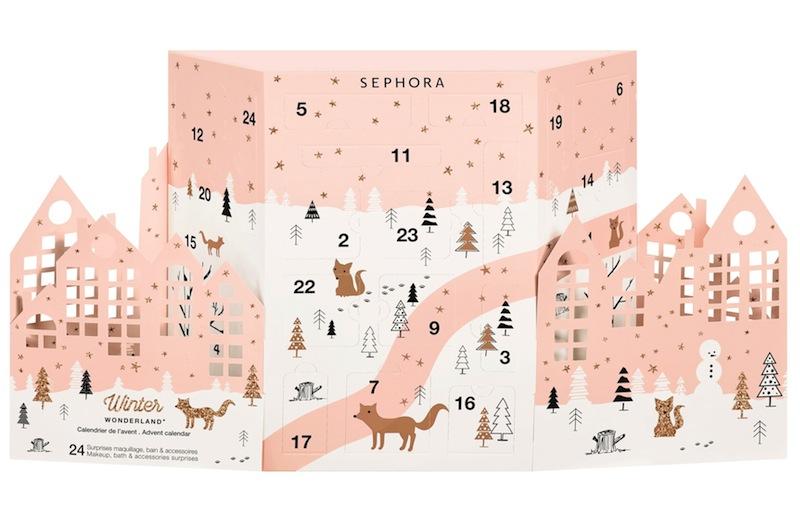 Winter  Wonderland Calendario dell'Avvento Sephora Collection make up regalo di Natale sotto i 50 euro Mirtilla Malcontenta Beauty Blog