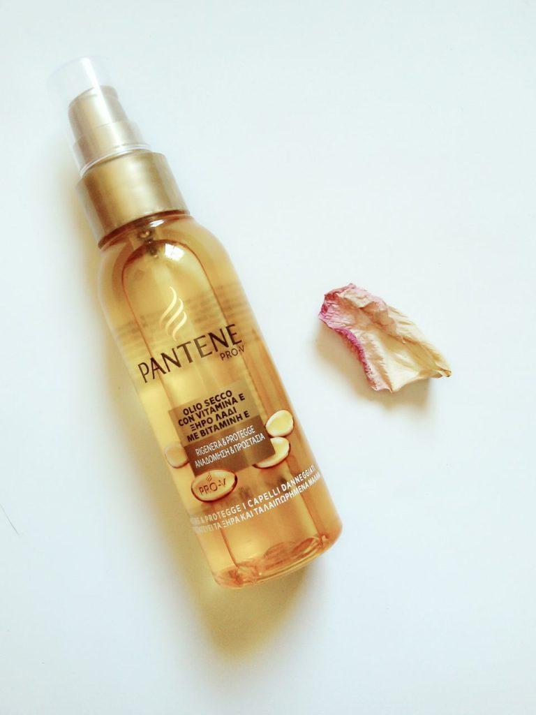 Olio secco per capelli Pantene rigenera e protegge