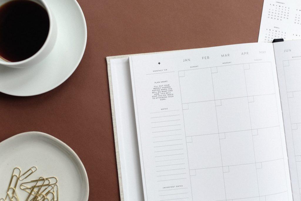 Bullet journal e pianificazione con planner