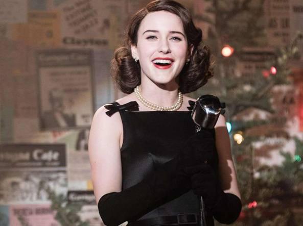 """La Fantastica Signora Maisel Miriam """"Midge"""": donna de li anni '50"""