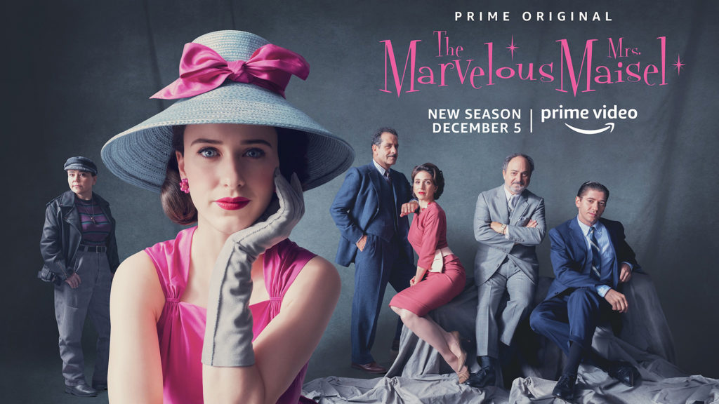 La Fantastica Signora Maisel disponibile su Amazon Prime Video