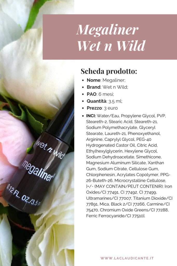 Scheda prodotto: eyeliner marrone wet n wild